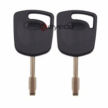Keyecu 2pcs/lot New Uncut Replacement Transponder Key 4D60 Chip for Jaguar XJ8 X-Type S-Type