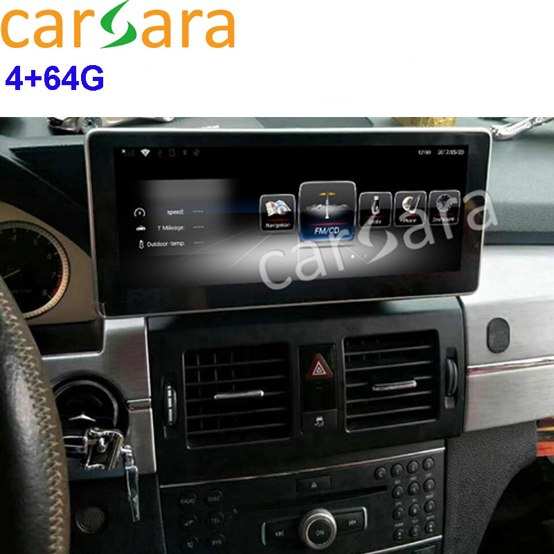 Mercedes GLK 300 320 350 200 220 280 250 Aftermarket Screen Updating Octa Cores 4G RAM 64G ROM