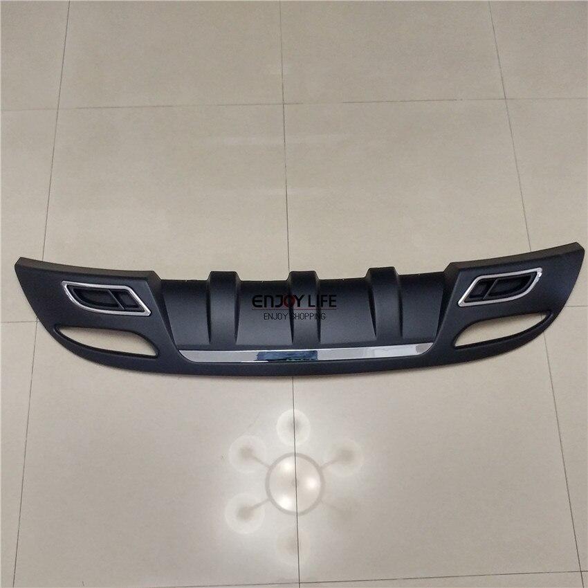 1pc Tail Rear Bumper Skid Board Guard Plate Protector Cover For Hyundai Elantra MD 2011 2015