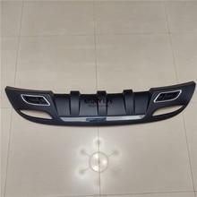 1 unid Cola Trasera Bumper Skid Protector Placa de Tablero de Guardia Para Hyundai Elantra MD 2011-2015 Sedan