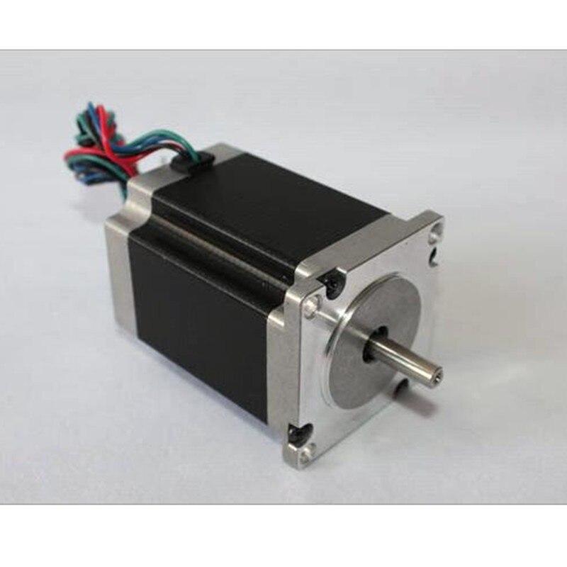 1 pièces 1.8 degrés NEMA23 57HS82-3004 2.1N.m 3A Nema 23 moteur 298 oz-in pour imprimante 3D pour CNC gravure fraiseuse