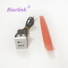 Biurlink Autoradio Headunit Supporto Esterno Porta USB Interruttore Presa USB per Ford Focus
