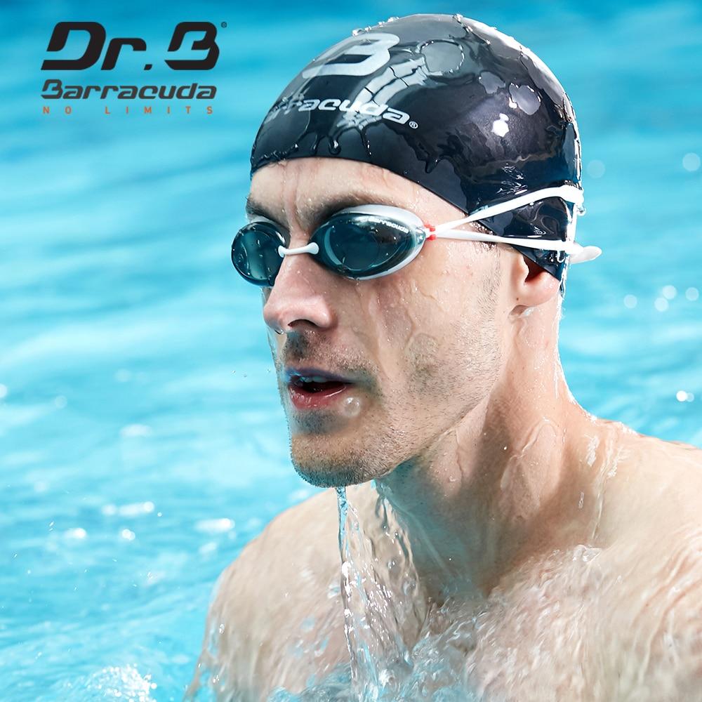 Barracuda Dr.B Myopia Swimming Goggles Anti fog UV Protection Waterproof swimming glasses for Men Women White #32295 Eyewear
