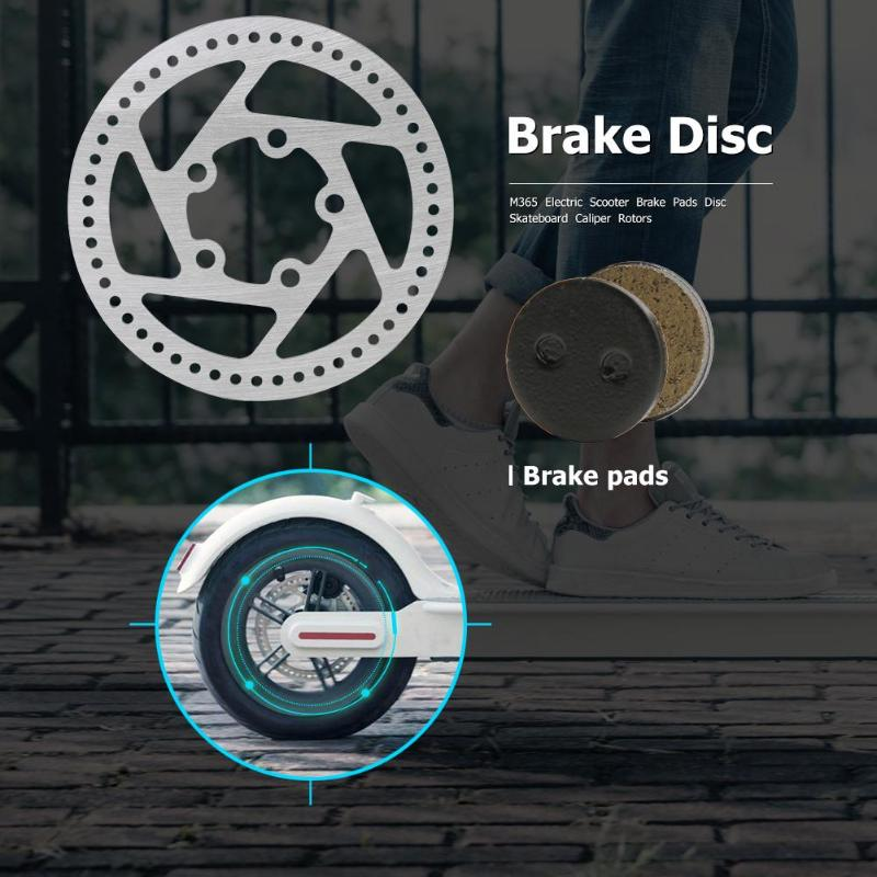 110mm for Xiaomi M365 Pro Electric Scooter Brake Disk Good Grip Brake Pads Enhance Replacement Part Accessory Mooth Braking in Scooter Parts Accessories from Sports Entertainment