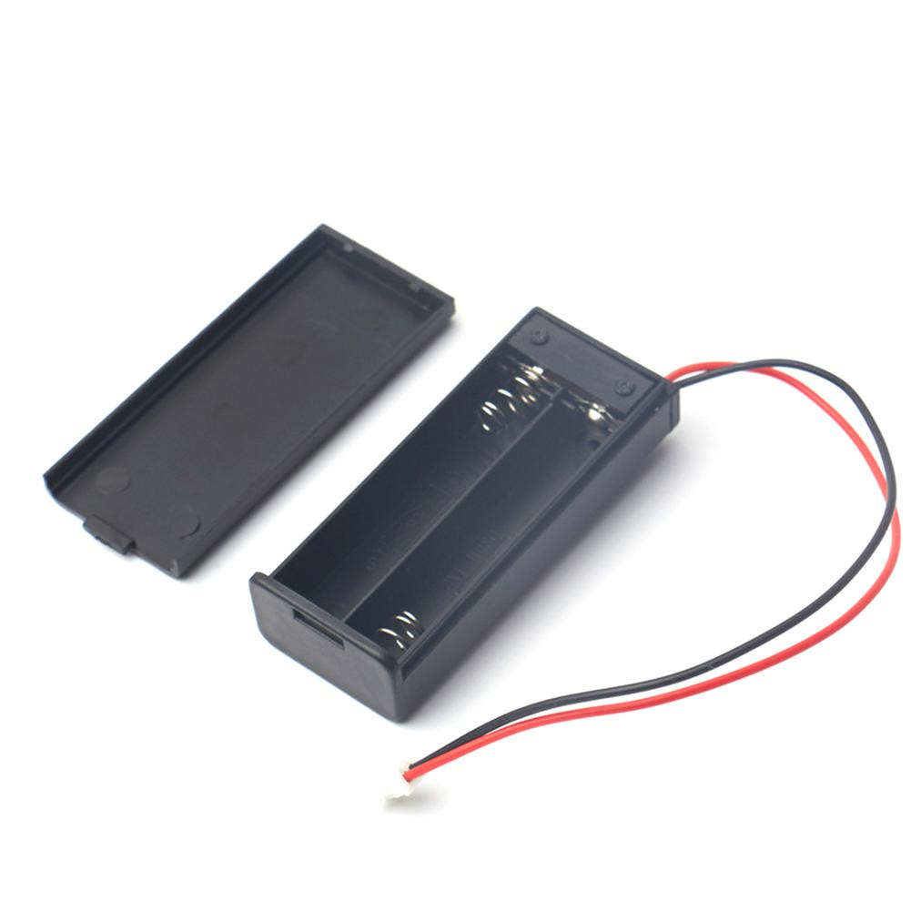 Battery Box 2 Section AAA For Microbit Battery Case With Cover Switch With Terminal