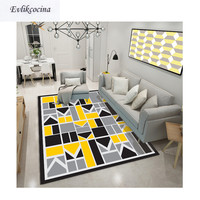 Free Shipping Geometric Carpet Room Area Rug Floor Mat For Living Room Bedroom Large Trellis Design Tapete Para Sala Alfombra
