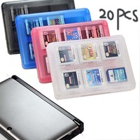 20pcs Lot New 28in 1 Game Card Holder Case For Nintendo 3DS Lite DSi XL Card