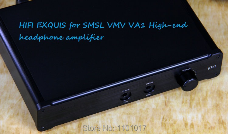SMSL VMV VA1 HD Headphone Amplifier HIFI EXQUIS Balanced XLR input VA-1 Headset AMP