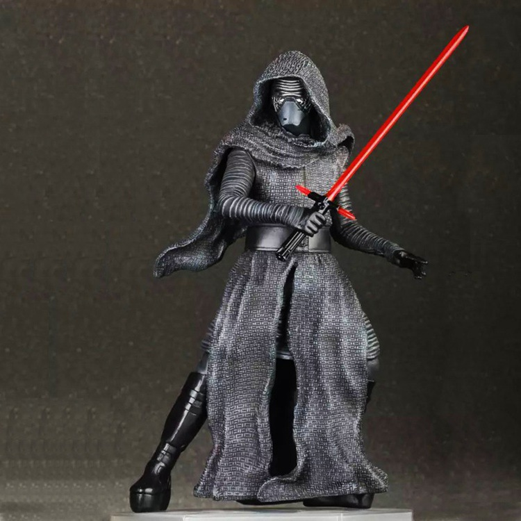 Huong Movie Figure 24CM Star Wars The Force Awakens KYLO REN PVC Action Figure Collectible Model Toy crazy toys star wars the force awakens kylo ren pvc action figure collectible model toy 22cm tmd088