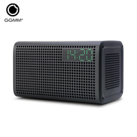 WiFi Bluetooth Stereo Sound With Wifi Repeater LED Clock And USB Charging Port Compatible With Apple