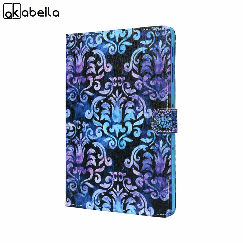 Ultra Slim Pattern Tablet Case For Samsung Galaxy Tab S3 9.7 T820 T825 T829 Cases Flip Stand Protective Shell Cover
