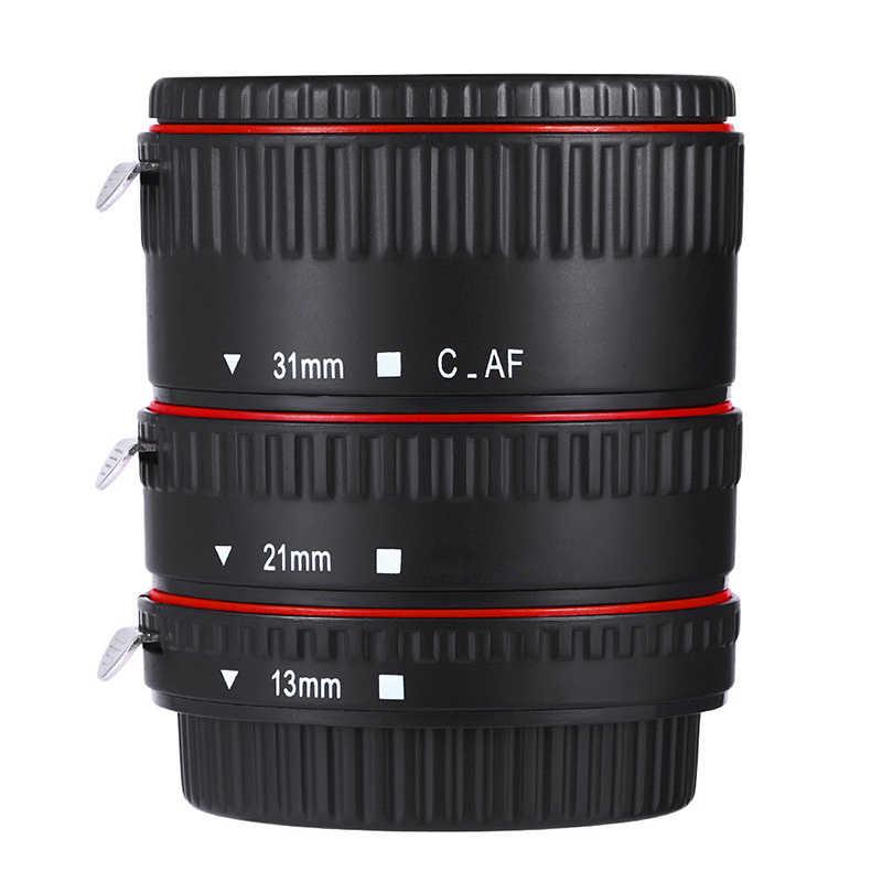 السيارات التركيز ماكرو تمديد أنبوب 13/21/31 مللي متر ل كاميرا كانون EF EF-S عدسة