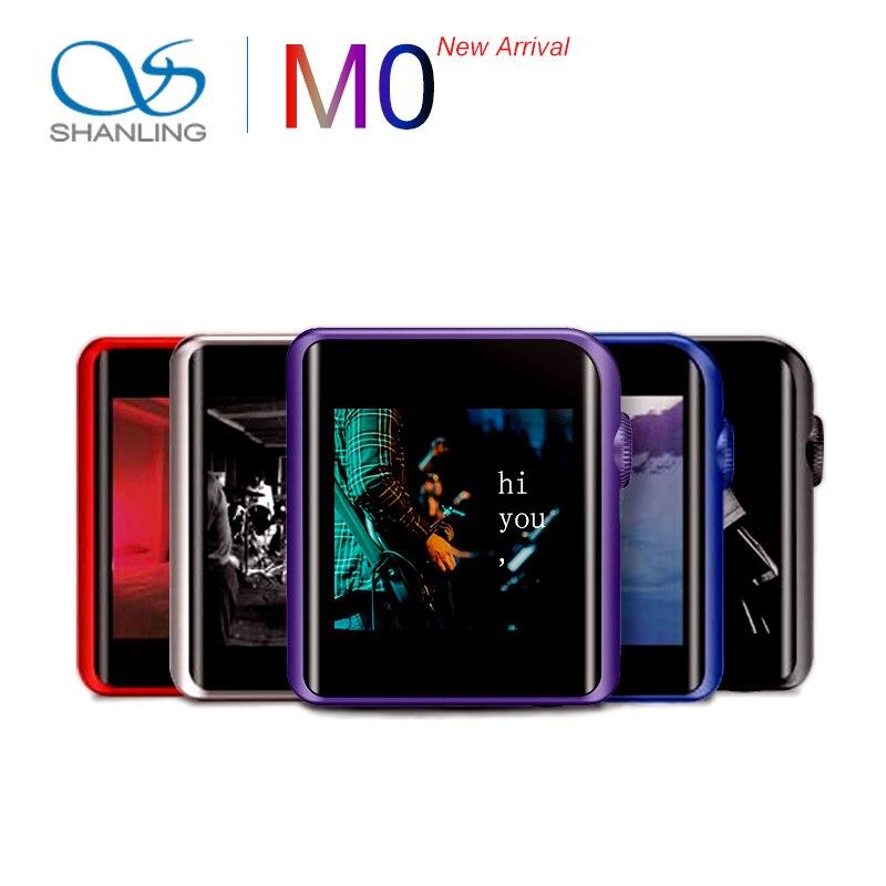SHANLING M0 ES9218P 32bit /384kHz Bluetooth APTX LDAC DSD MP3 FALC Portable Music Player Hi-Res Audio Hifi Mini Sports TF Card