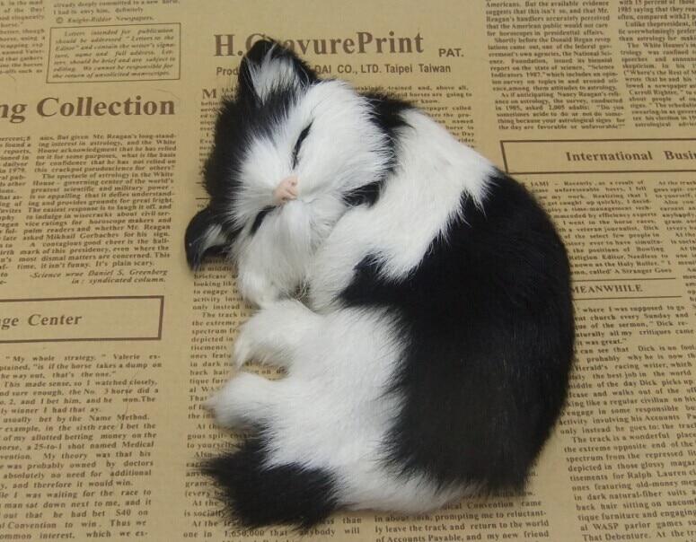 Štiri barvne neobvezna simulacija krzno živali mačka nap super - Dekor za dom - Fotografija 5