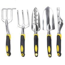 Набор инструментов для сада из магниевого сплава, садовый костюм, садовые инструменты, большой шолв/лопата для корня/Крест/грабли, Прямая поставка