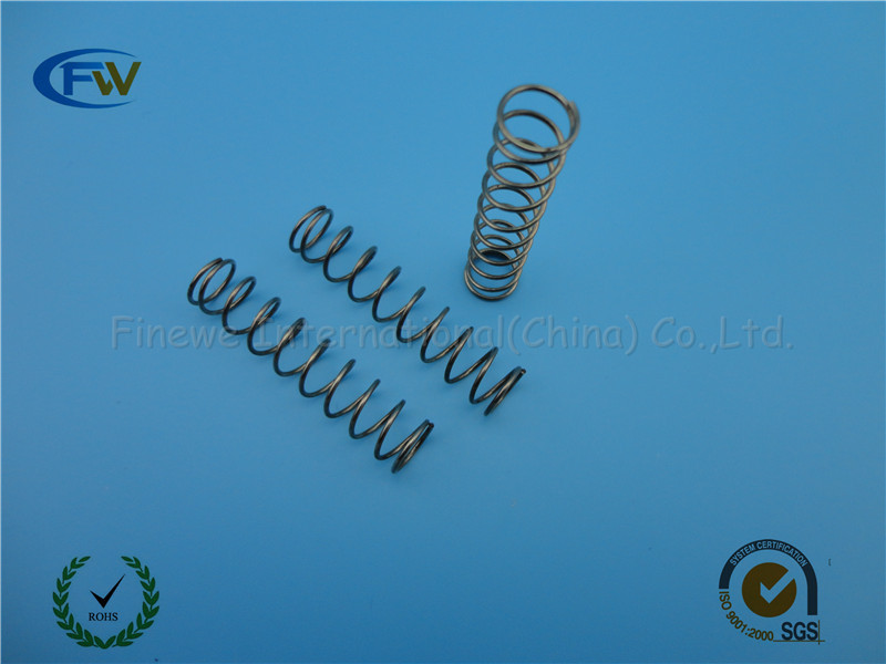 Custom long compression spring with heavy loaded used in machine