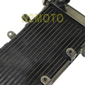Black Mesh Grill Motorcycles Radiator Cooler Cooling High Quality for Honda VT250 (Magna250 )1995-1997