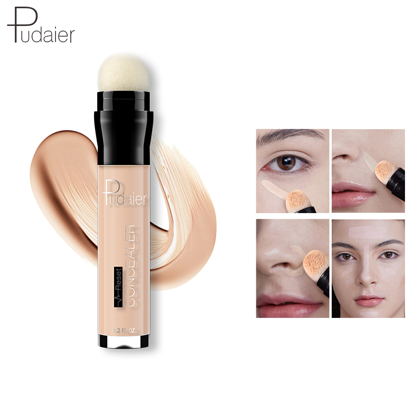 Pudaier Makeup Concealer Stick Corrector Face Foundation Contouring Primer Pen Palette Cream Liquid Beauty Cosmetics