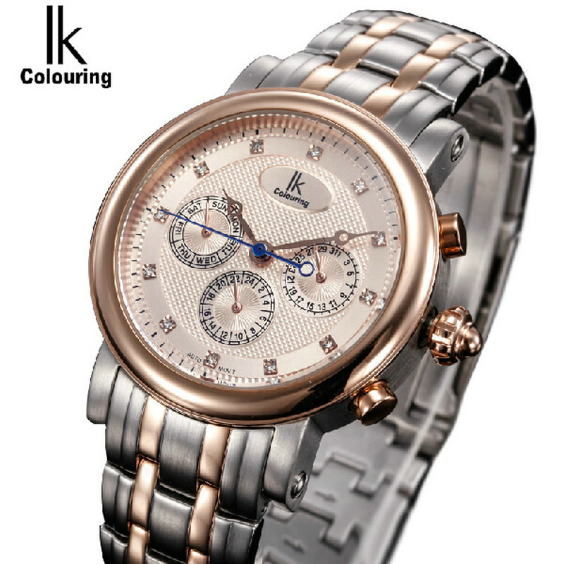 For multifunctional male watch casual mens watch ik fully automatic mechanical watch