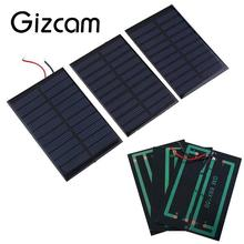 New 5V 0.8W 160mA Mini Solar Panel Battery power charger charging Module DIY Cell car boat home Solar Panel Portable Power Sourc