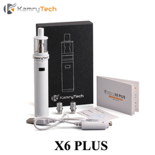 Electronic Cigarette Vape Box Mod Vaporizer Kamry X6 Plus kit E Cigarette 18650 Battery Mod 18350 Mod with X6 Plus Tank X1091