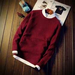 Мужской свитер Корейская рубашка свитер 901