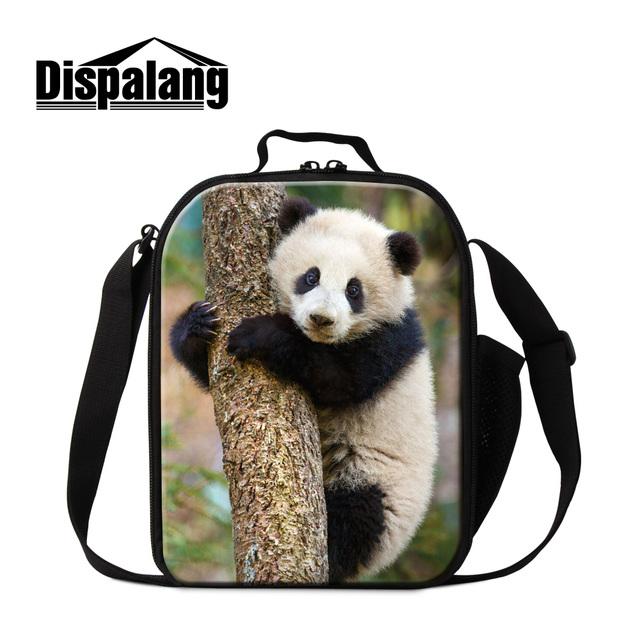 Dispalang panda bolsas de almuerzo para niños térmica refrigerador aislado almuerzo carry almacenamiento nueva moda a prueba de agua portátil de picnic alimentos bolsa