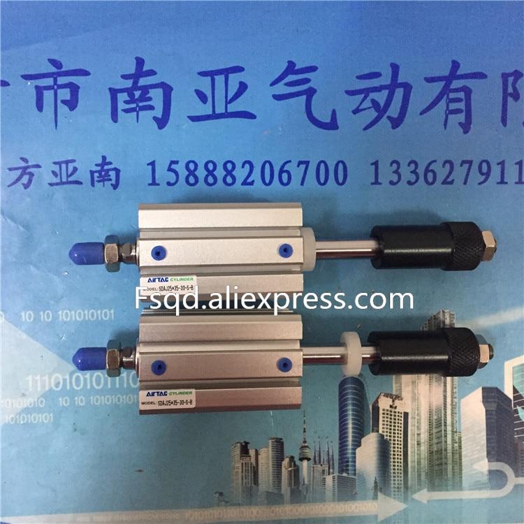 SDAJ20X20-20-B AIRTAC air cylinder pneumatic component air tools SDAJ series se40 200 airtac thin cylinder air cylinder pneumatic component air tools se series