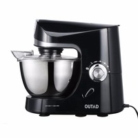 Multifunction Stand Mixer 220V 1200W 5L Stainless Steel Bowl 10 Speed Kitchen Electric Mixer Dough Machine