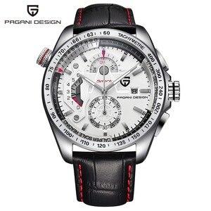 Image 5 - ออกแบบ PAGANI Mens นาฬิกาข้อมือกีฬา Quartz นาฬิกาดำน้ำกันน้ำชายนาฬิกา Chronograph นาฬิกาข้อมือทหาร relogio masculino