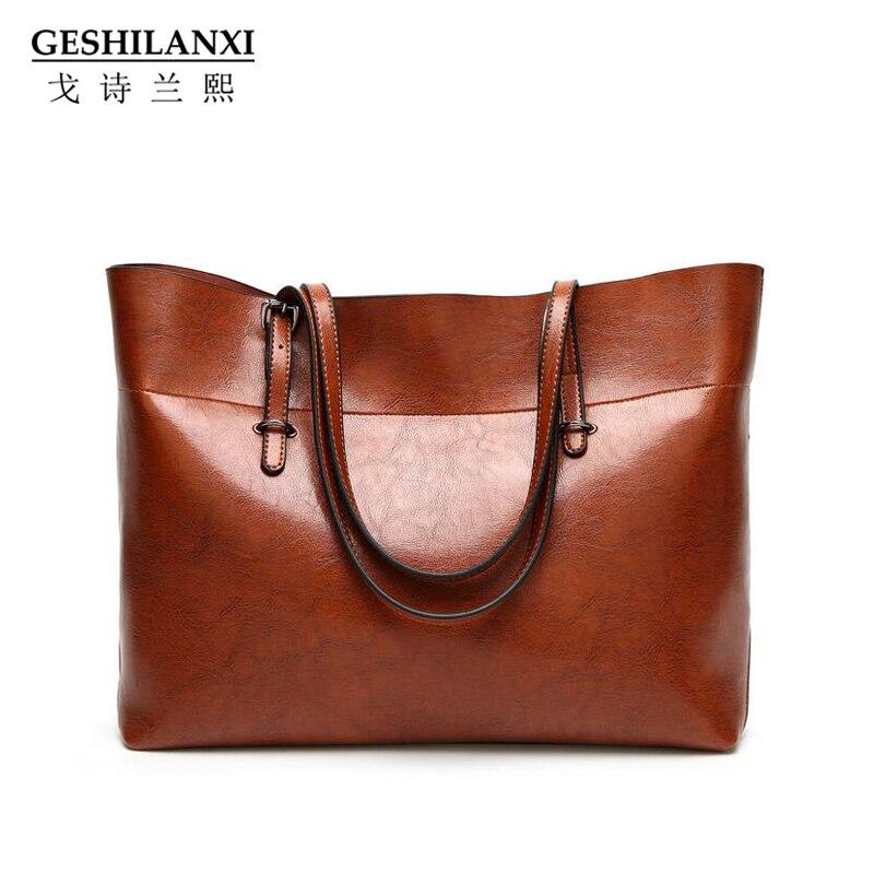 Geshilanxi New Women Handbag High Quality Famous Designer Brand Pu Leather Messenger Single Shoulder Bags Crossbody Female Bag