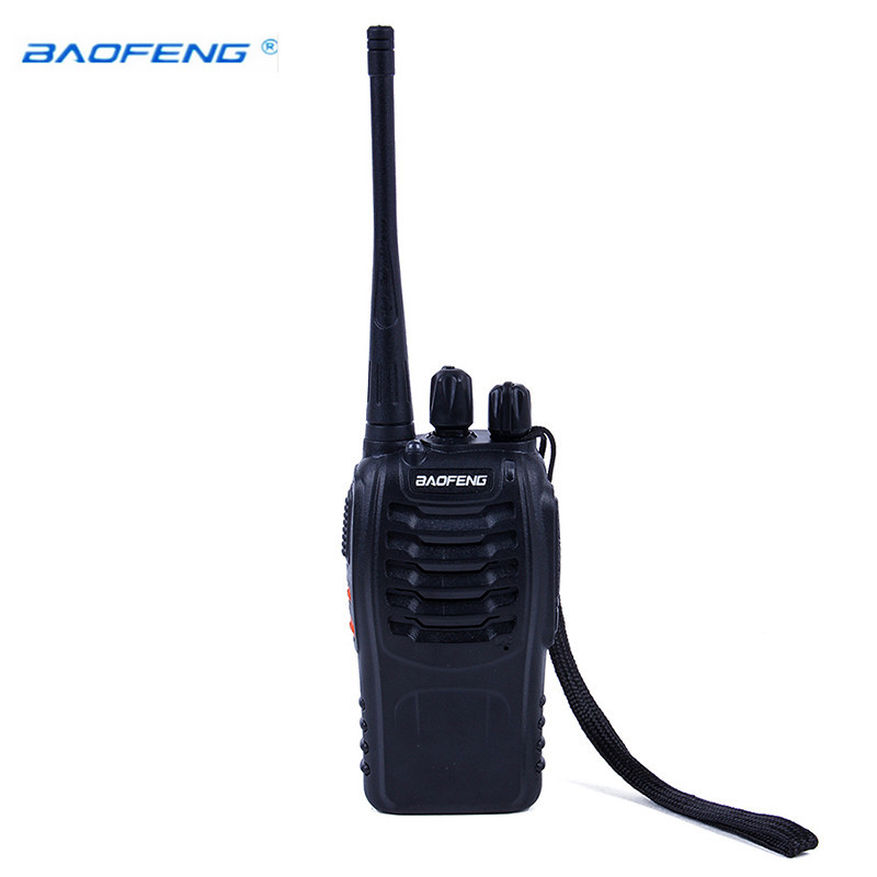 Baofeng Walkie Talkie BF 888S 5W UHF 400 470MHZ Handheld Portable CB Ham Radio walkie talkie Set communication equipment radio