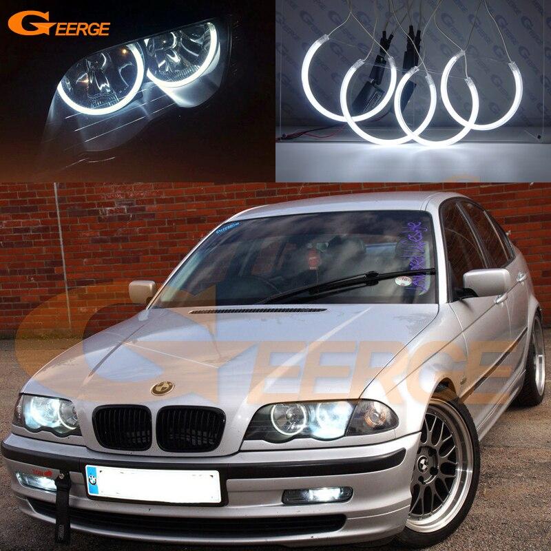 Pour BMW 3 Series E46 pré-lifting 1998 1999 2000 2001 Excellent éclairage Ultra lumineux CCFL Angel Eyes kit anneau Halo