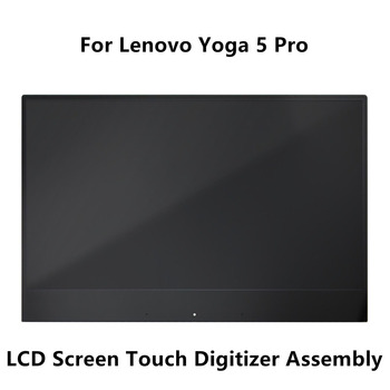 13.9'' Full LCD Display Screen Touch Digitizer Glass Assembly For Lenovo Yoga 5 Pro 4K UHD IPS Multi-touch 3840X2160 & 1920X1080