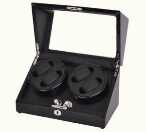 Professional High Quality 4+0 Cherry Wooden Watch Winder