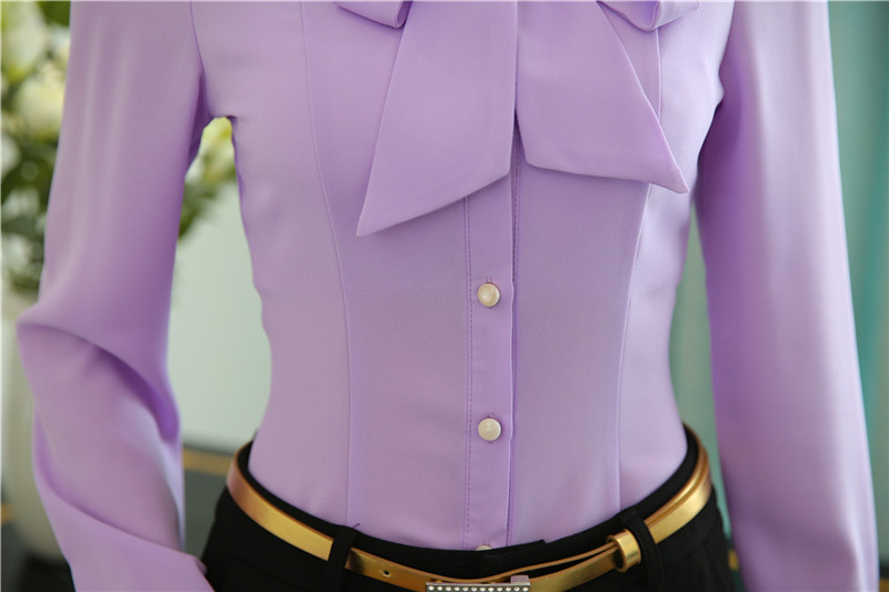 Lilac Blouses For Work Breeze Clothing