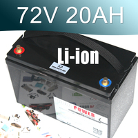 72V 3000W Lithium ion Battery Pack For Scooter E motorcycle Electric bike