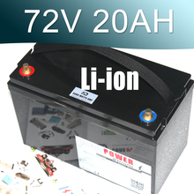 купить 72V 3000W Lithium ion Battery Pack For Scooter E-motorcycle Electric bike онлайн