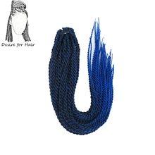 crochet synthetic black grey