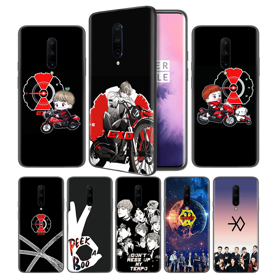 EXO 5 Don t Mess Up My Tempo Soft Black Silicone Case Cover for font b