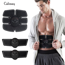 Abs EMS Belt Electrical Abdominal Muscle Toner Ab Toning Belts Training Gear Stimulator Trimmer
