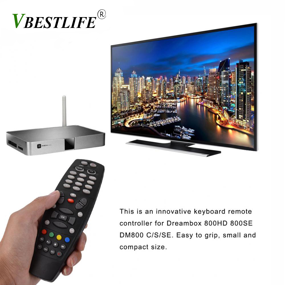 Set-Top Box Remote Control for Dreambox <font><b>DM800</b></font> 800HD 800SE <font><b>DM800</b></font> C/S/<font><b>SE</b></font> Series Smart TV box Remote Control image