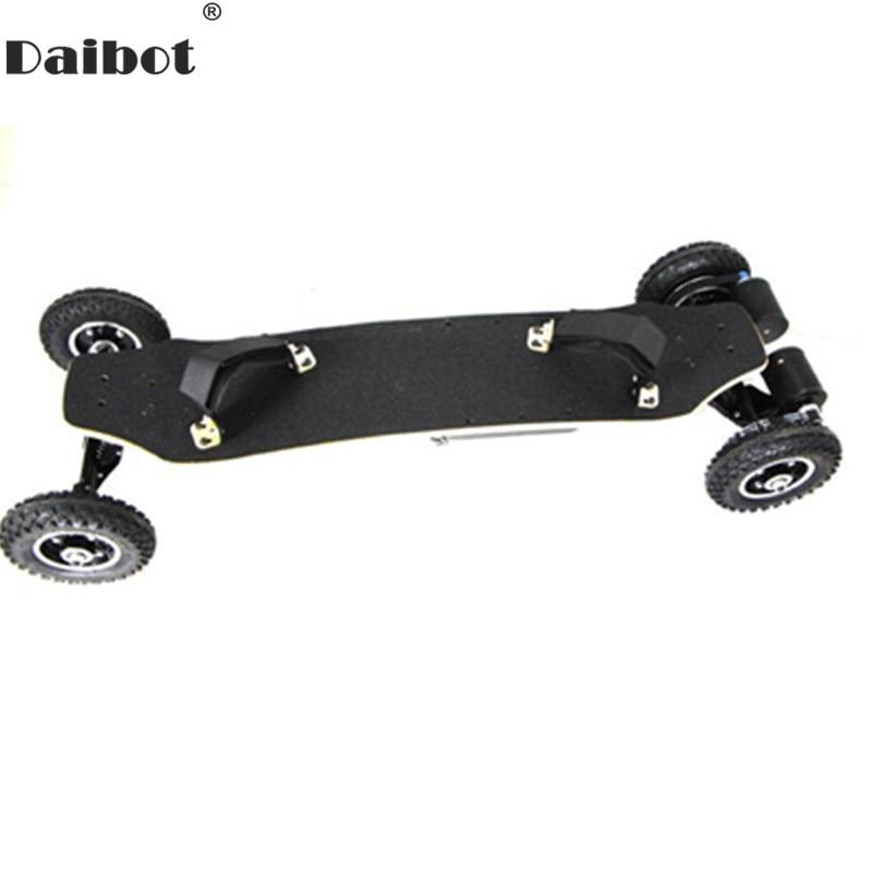 Firehjulet elektrisk skateboard dobbelmotor 1650W 11000mAh elektrisk - Sykling