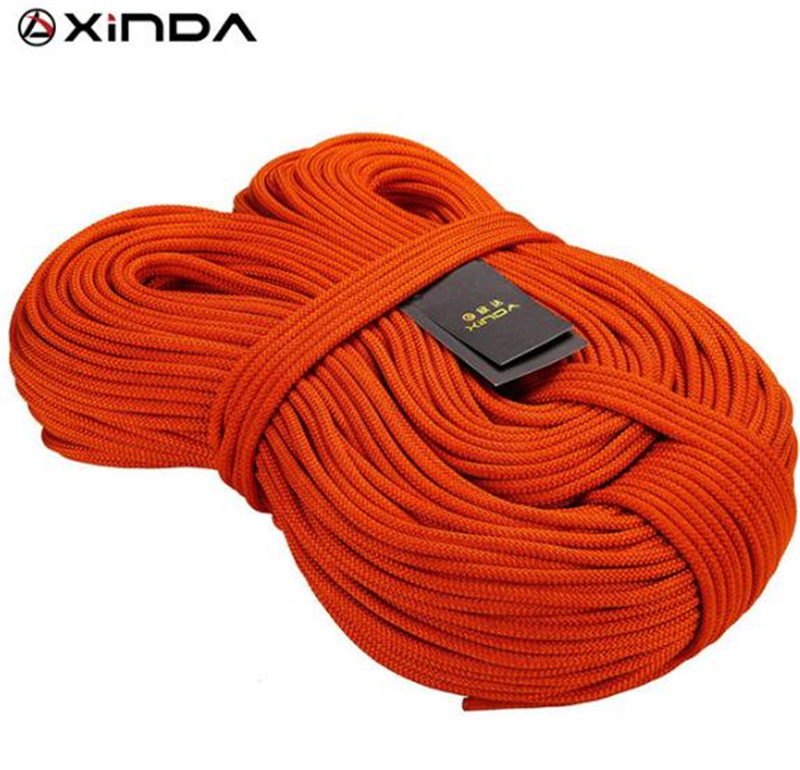 XINDA 10M XINDA Professional Rock Climbing Rope 6mm Diameter 7KN High Strength Equipment Cord Safety Rope Survival Rope