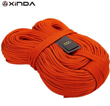 XINDA 10M Professional Rock Climbing Rope 6mm Diameter 7KN High Strength Equipment Cord Safety Survival