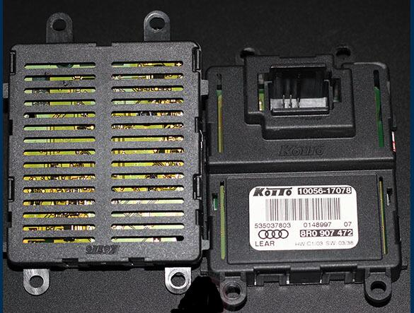 free shipping Koito LED Headlights DRL Ballast Control Module for Audi Q5 DRL LED Module Ballast reactor