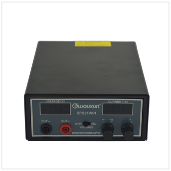 Wouxun SPS31WIN LED Digital Display Switching Power Supply (220V to 13.8V or 9.0-15.0V adjustable) Maximum Output Current 30A