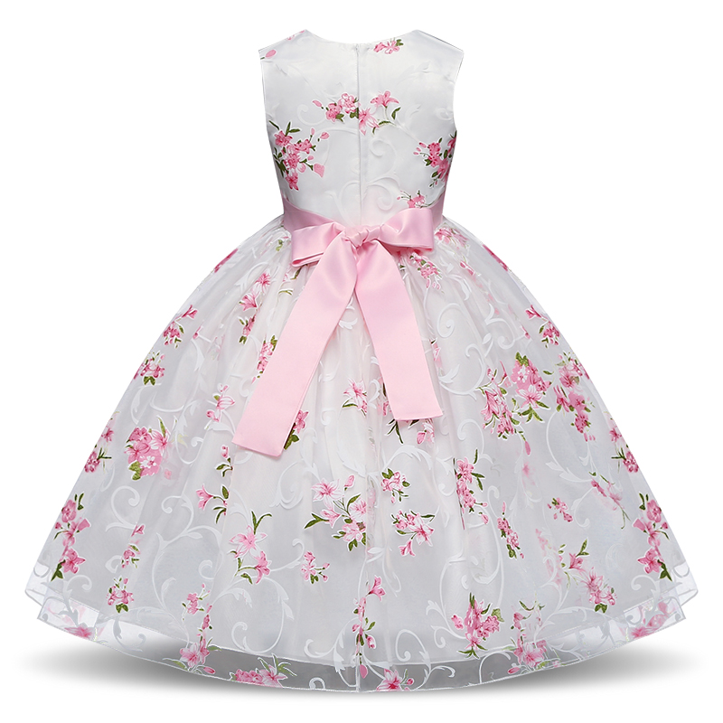 HTB1XBycqeuSBuNjy1Xcq6AYjFXar Summer Tutu Dress For Girls Dresses Kids Clothes Wedding Events Flower Girl Dress Birthday Party Costumes Children Clothing 8T
