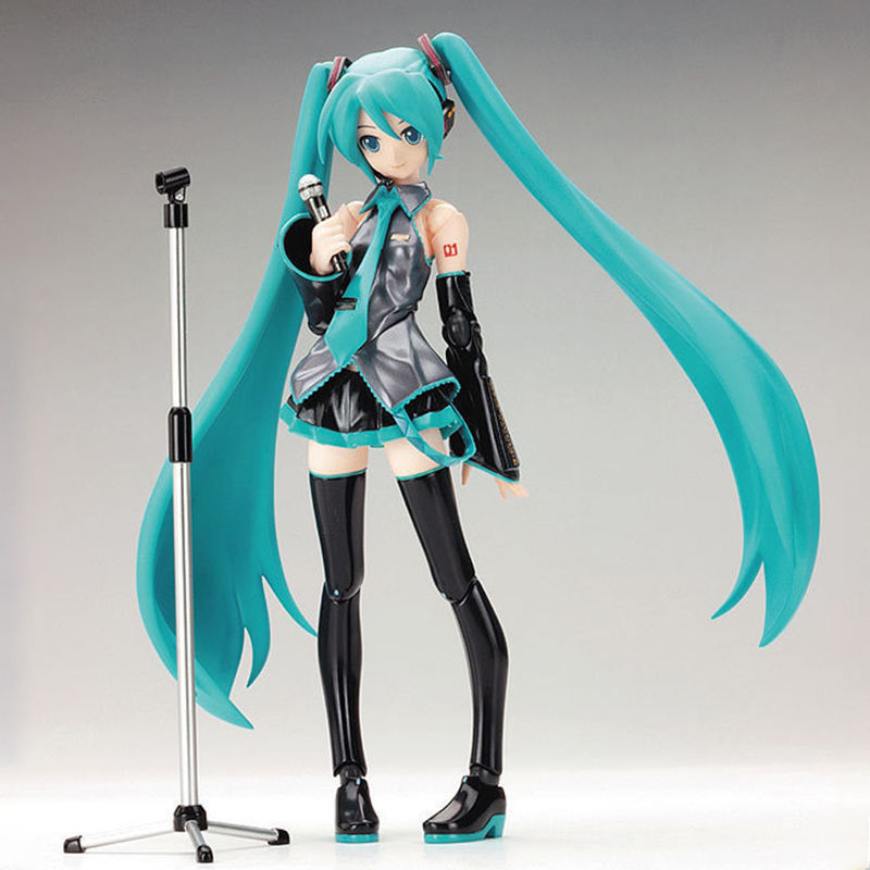 Hatsune Miku 1/8 Scale Action Figure Collection Multicolor Joint Moveable Toy 10