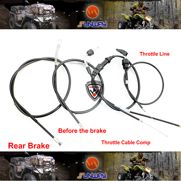 Throttle Cable Choke Cable Front Brake Cable Rear Brake Cable for Mini Bike Parts PW50 Free Shipping проф пресс любимые сказки сказки русских писателей